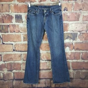 Lucky Brand Womens Dream Jeans Size 2 Button Fly